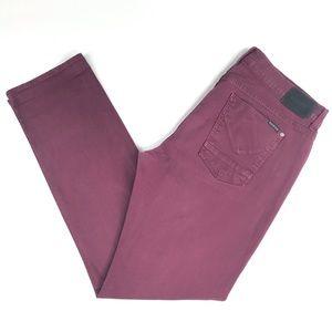 HUDSON BYRON 5 Pocket Denim Straight Leg Jeans
